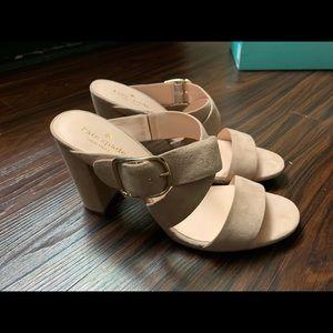 Kate Spade nude heels, brand new